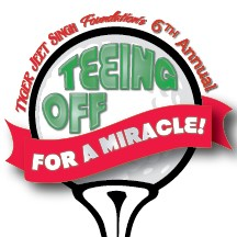 100k raised at teeing off for a miracle